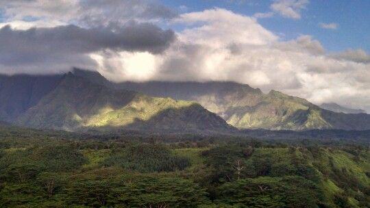 Mt. Waialeale Kaua'i, Hawai'i