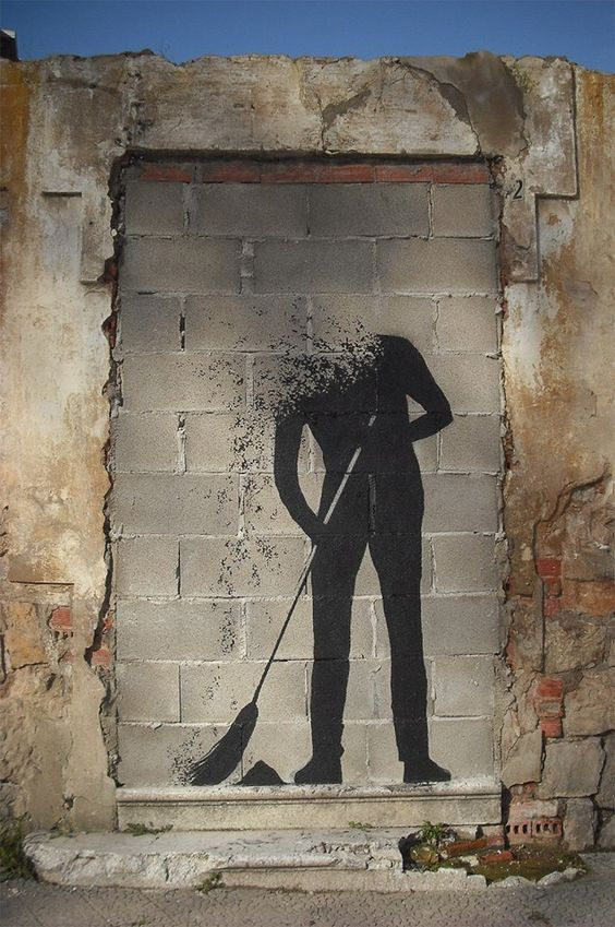 Street art by Pejac in Spain www.culturainquieta.com