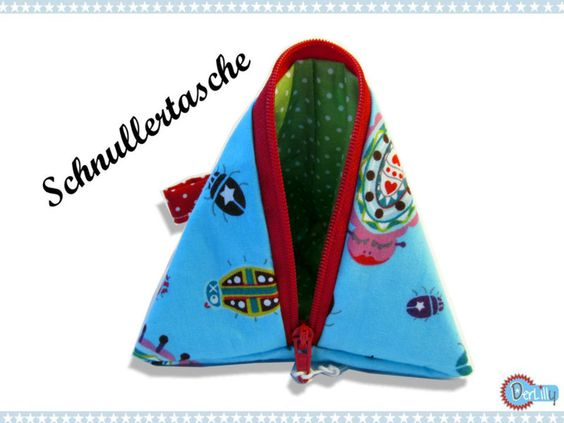 Schnullertasche+-+Pyramidentasche+Käferchen+von+DerLilly+auf+DaWanda.com
