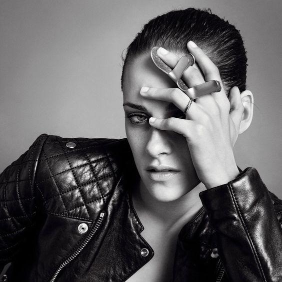 Kristen Stewart and Freja Beha Erichsen by Inez + Vinoodh for V Magazine #81 Photo