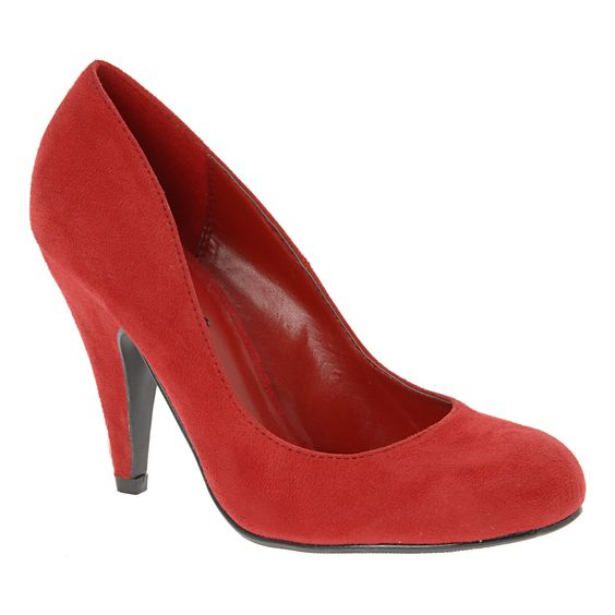 Red Pumps.: