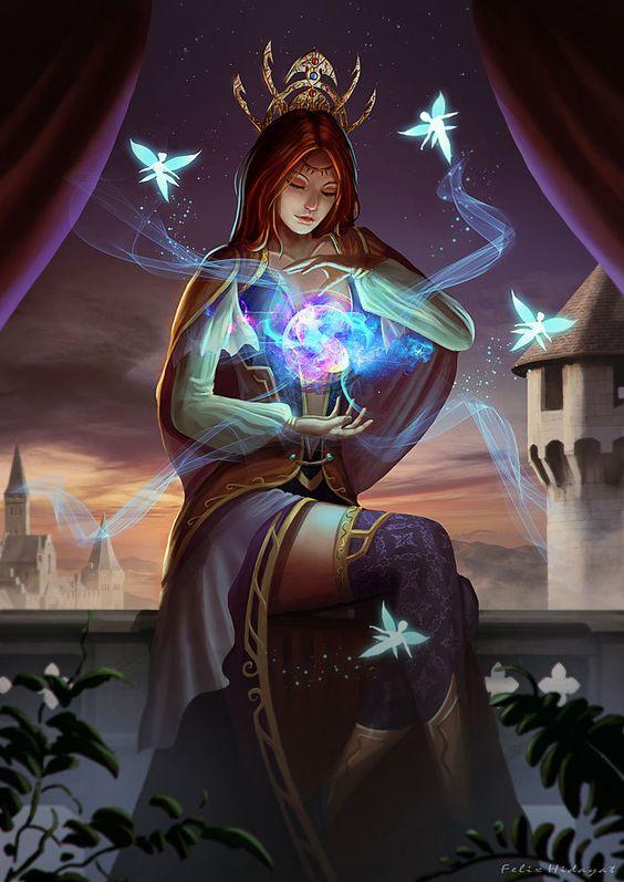 ArtStation - Summoner Princess, Felix Hidayat