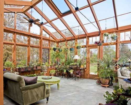 Sunroom / conservatory addition constructed in conjunction with whole house additions and renovations.  Sunroom designed and installed by Creative Conservatories, Quakertown, PA.