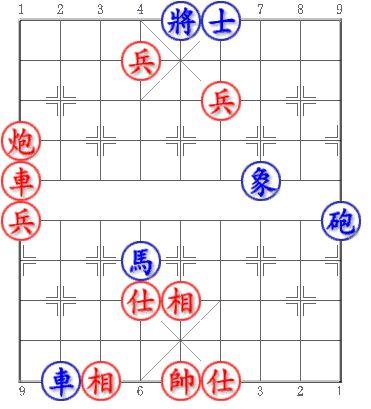 Blue first. Win Draw or Lose? Can you try it? #chess #xiangqi #chinesechess #midendgame Xanh tiên. Thắng Hòa hay Thua? Mời bạn thử sức? Trích từ: Tàn cuộc Xe Pháo Mã Fen: 4ka3/3P5/5P3/C8/R5b2/P7c/3n5/3AB4/9/1rB1KA3 Answer: http://bit.ly/1TdQW91