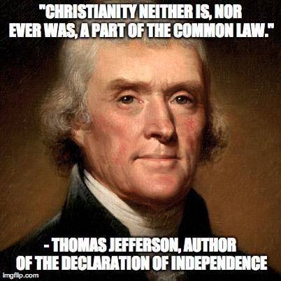 Saying that the United States is a nation founded on Christianity is not only wrong, but ignorant.