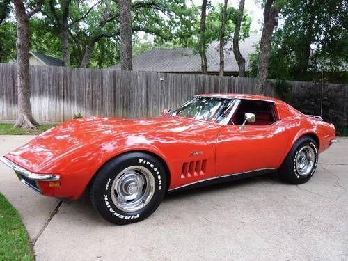 Resultado de imagem para fotos de automóveis Corvette ano modelo 1972