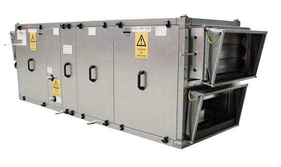 thiết bị xử lý không khí AHU