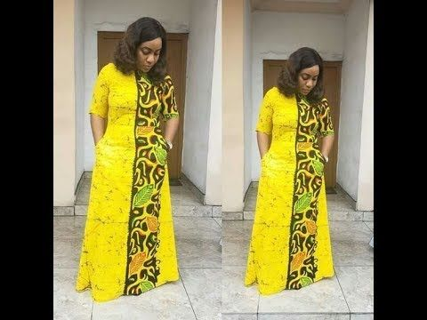 African Fashion   Mode africaine robe longue