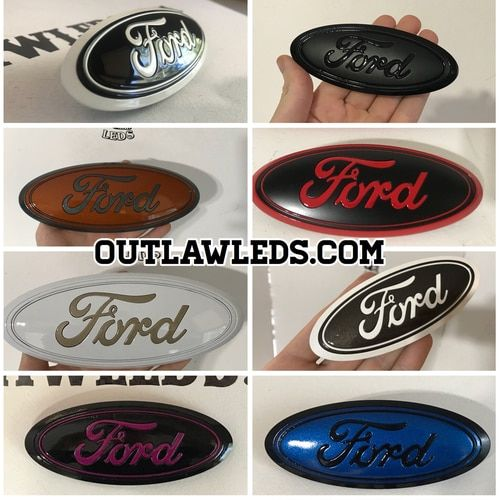 Custom Automotive Lighting And Custom Paint Work Color Changing Automotive Lights Ford F150 Accessories Truck Accessories Ford Ford Badges