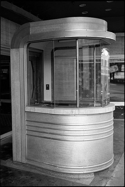 Art Deco Theater ticket Booth