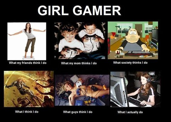"haha, I love ""what guys think I do."""