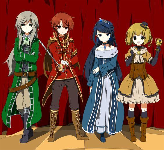 Anime Characters Hogwarts Houses : Salazar slytherin godric gryffindor rowena ravenclaw