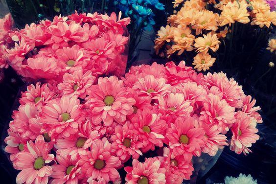 Flores en el Mercado Central de Alicante