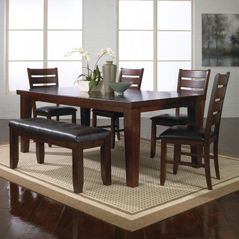 38++ Solid oak dining table and bench set Ideas