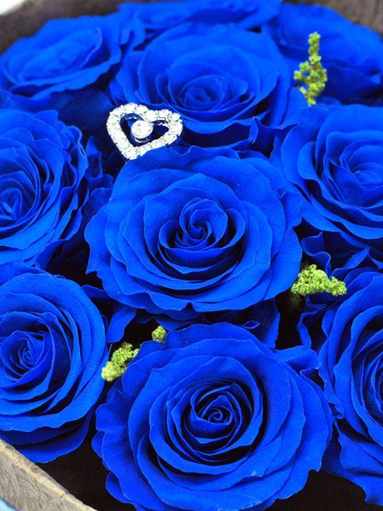 ロイヤルブルーに花束を 占い
