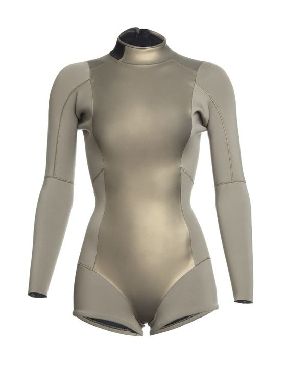 Gold Metallic Wetsuit | Surf & Swim by Cynthia Rowley - Available for Pre-sale now!
