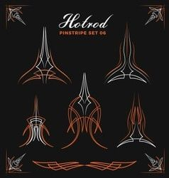 Vector image of Pinstriping vector, includes detail, line, decorative, pin & striping. Illustrator (.ai), EPS, PDF and JPG image formats.