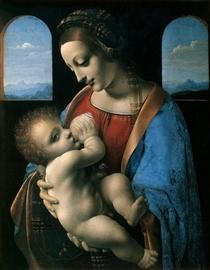 Madonna Litta (Madonna and the Child) - Leonardo da Vinci