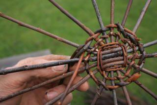 Weaving Wicker basket tutorial