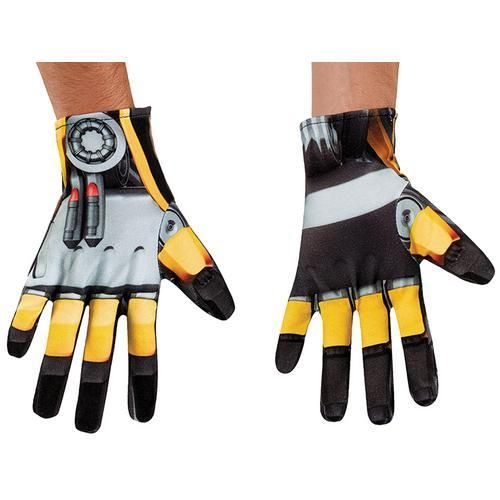 Bumblebee Gloves Costume Accessory Transformers Halloween