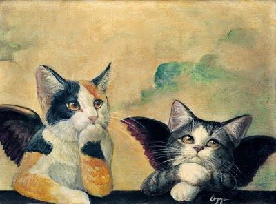 Angel kitties: