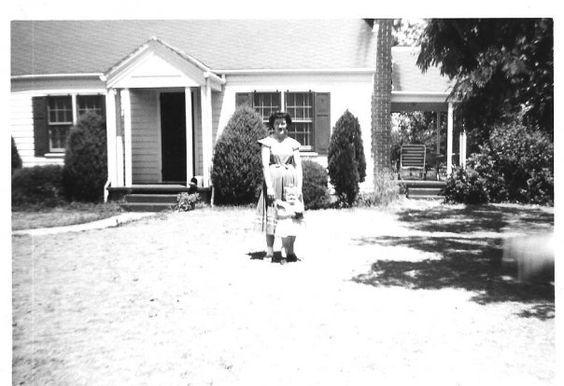Mom and me 1954