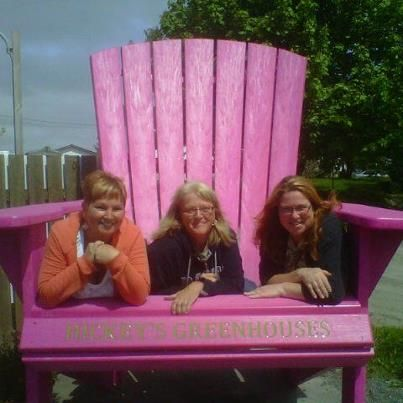 Staff at Hickey's Greenhouses, Kelligrews get ready for Pink Days In Bloom!