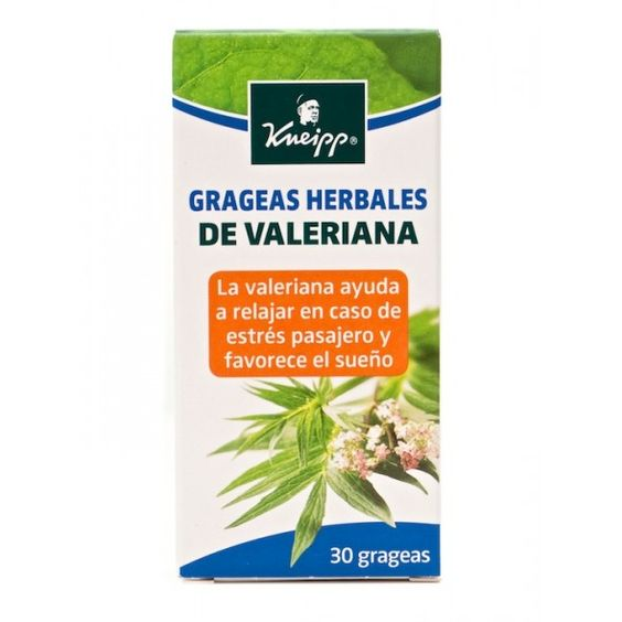 163578 Kneipp Grageas Herbales de Valeriana - 30 grageas.