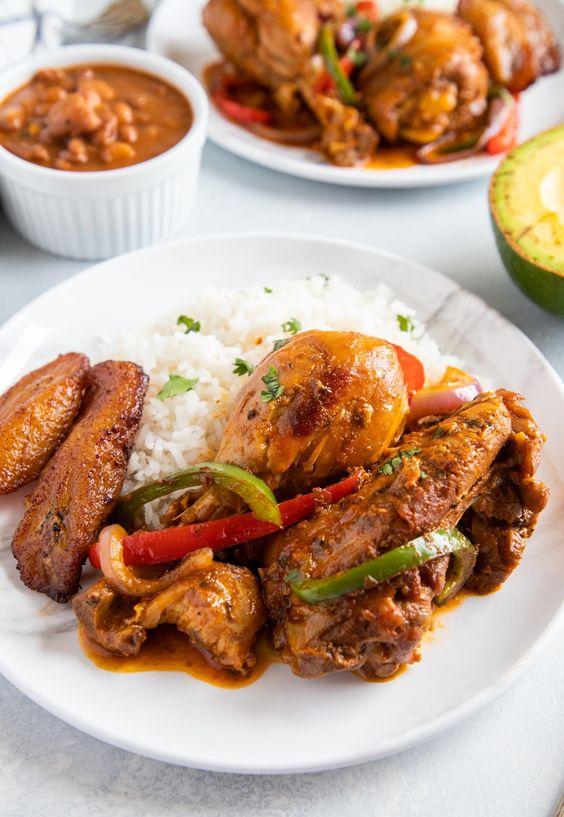 Dominican Braised Chicken (Pollo Guisado)