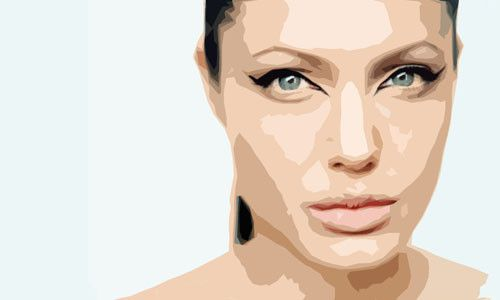 Angelina Jolie500 by dogo-design
