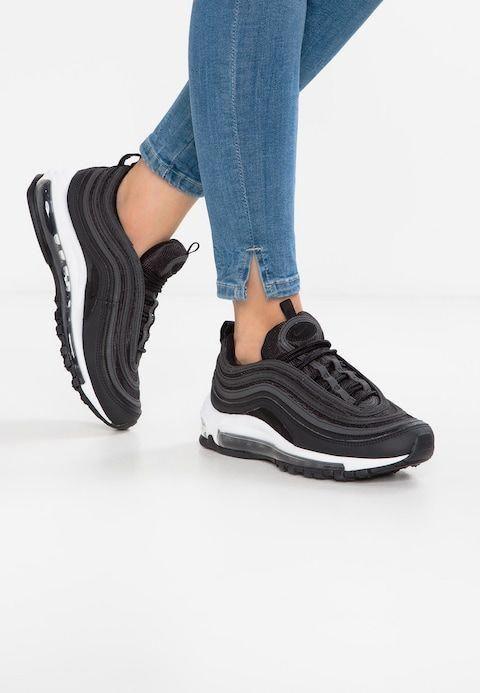 Nike Sportswear AIR MAX 97 - Sneakers - black/dark grey ...