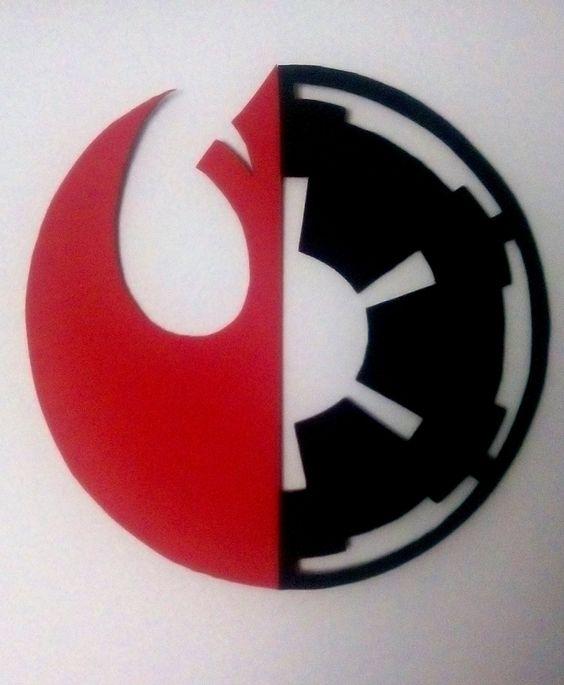Cuadro Rebelde-Imperio, Star Wars