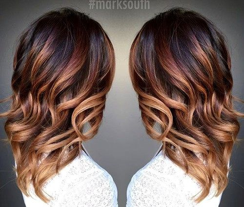 20 cute fall hair colors and highlights ideas hair type. Black Bedroom Furniture Sets. Home Design Ideas