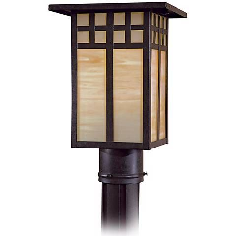 Scottsdale Ii 12 1 4 High Post Light 17440 Lamps Plus Lamp