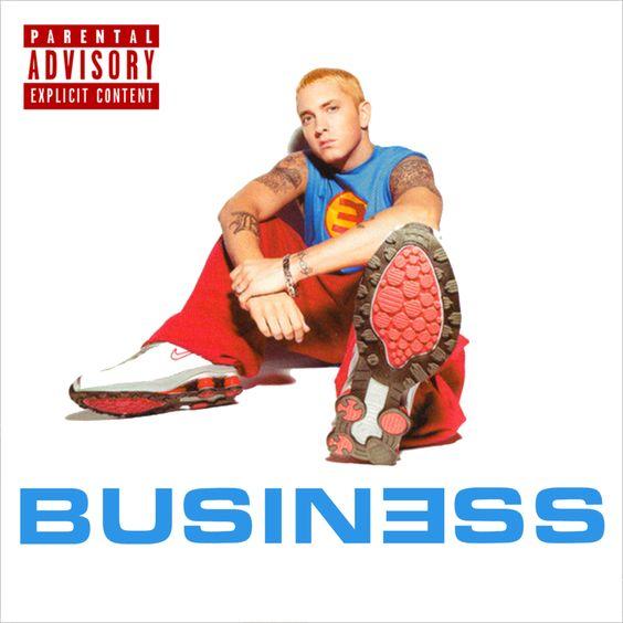 Eminem – Business (single cover art)