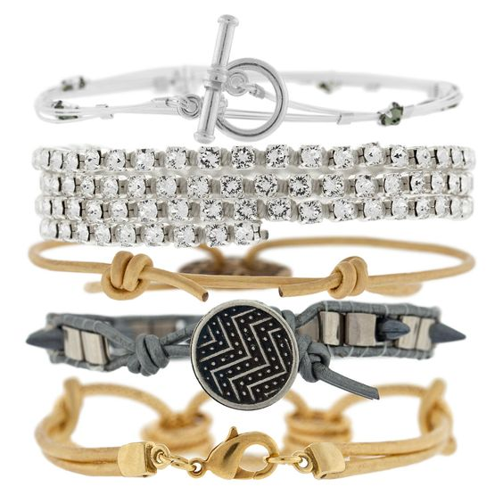 Glitter and Glam Bracelets   Fusion Beads Inspiration Gallery