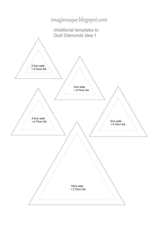 Diamond pattern, Patrones and Diamonds on Pinterest