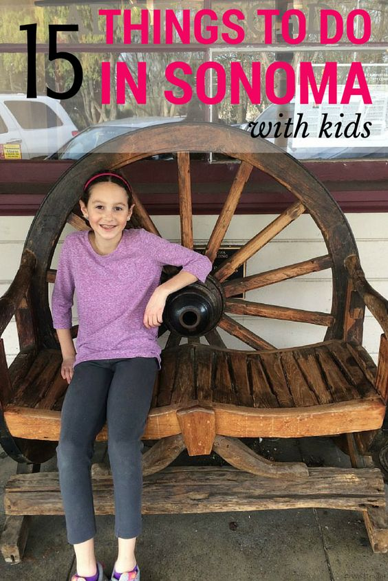 15 Things to do in Sonoma County, California with kids (that don't involve wine tasting!) Some might surprise you!