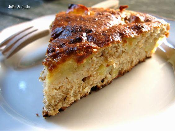 Julie & Julia: esperimenti in cucina: Torta integrale di mele e ricotta