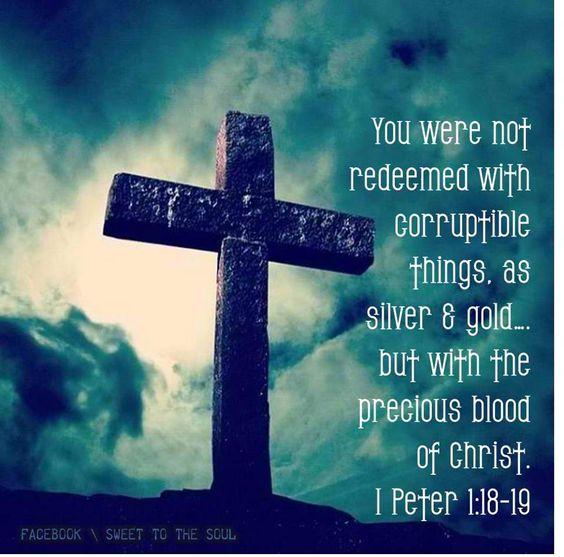 1 Peter 1:18-19