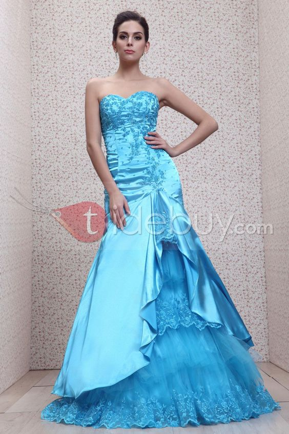Blue Mermaid....my dress would have to be red navy blue or black
