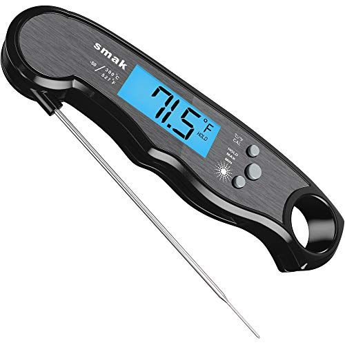 Digital LCD Instant Read Probe Food Meat BBQ Grill Kitchen Cooking Thermometer