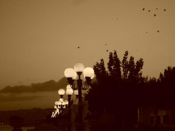 ...die stille des abends