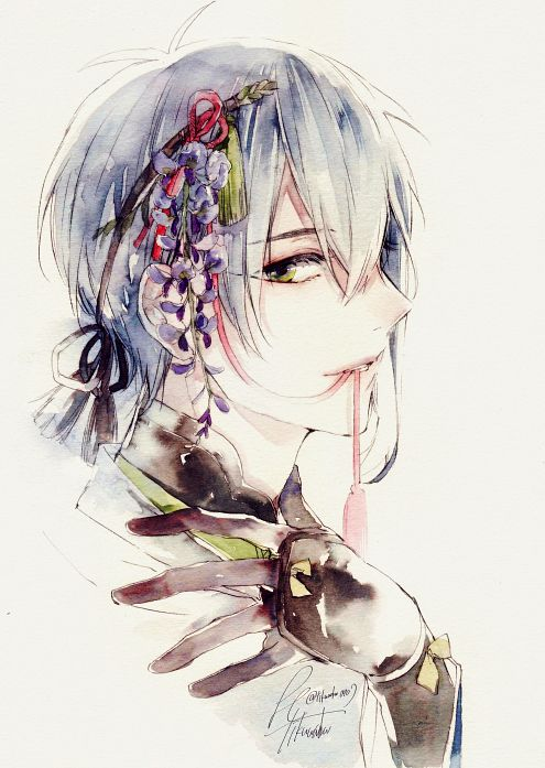 Imagem de art, beautiful, and flowers