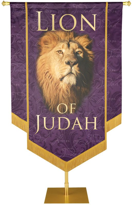 Lion of Judah Names of Christ Banner