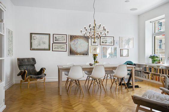 Välkommen till ett vackert hem i Vasastaden