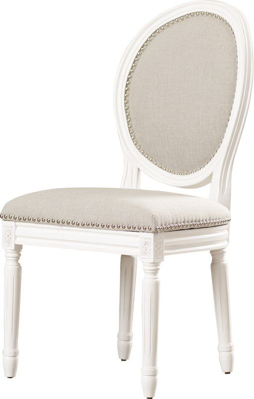 Fleur King Louis Back Side Chair With Images Dining Chairs