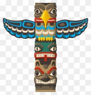 Totem Pole Edit 1 Animal Native American Totem Pole Clipart Native American Totem Native American Totem Poles Totem Pole