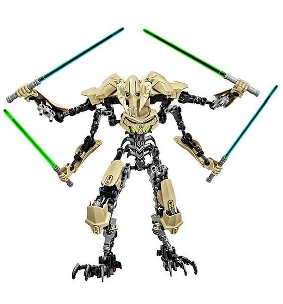 LEGO Star Wars Constraction Figure : General Grievous - www.hothbricks.com