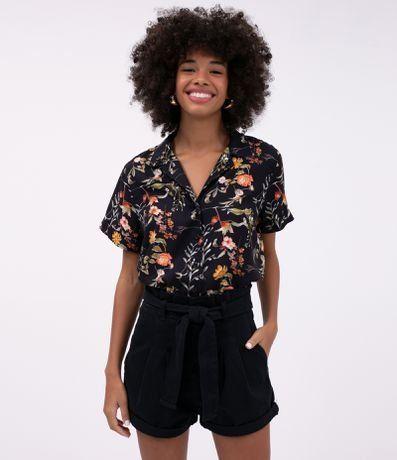 Camisa Estampada Manga Curta - Renner